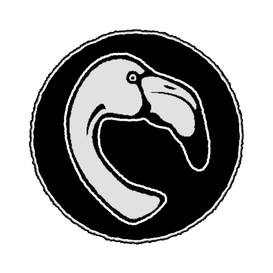 Blue Flamingo logo